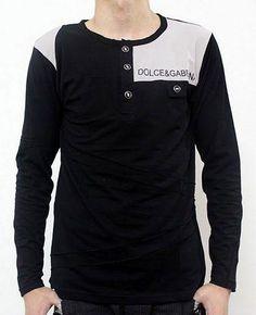 Camisetas Dolce Gabbana Hombre NR92 Camisetas Dolce Gabbana Hombre Manga  Larga Redondo y Moda 5523c671364