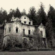 spooky abandoned places | Spooky. | Abandoned Abodes and Places!