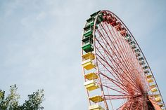colourful ferris wheel in Berlin