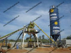 Find stationary concrete batching mix plant with top quality components. Our concrete plants are suitable for rough Indian operating conditions. Our concrete mixers are easy to operate and maintain.