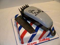 grooms cake Barber Cake