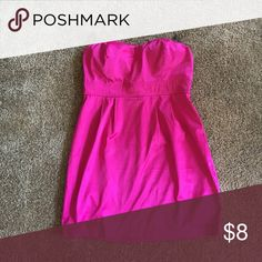 Forever 21 Party Dress Size Large, pink, clubbing dress, been one once Forever 21 Dresses Strapless