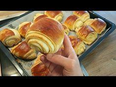Açma Tarifi-Aralari tahinli ve kat kat yumusacik bir hamur+Hatice Mazi - YouTube