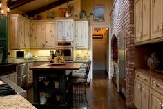 French Country Kitchen Plans