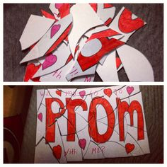 Cute way to get asked to prom <3 someone please do this for me! I'm amazing at puzzles!
