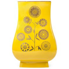Santorini Alexandra Vase The Santorini Collection: porcelain glazed in rich, saturated colors with pure gold accents. Crisp and refreshing, like a dip in the Aegean Sea. Perfect for adding a pop of color to your fab floral arrangement.