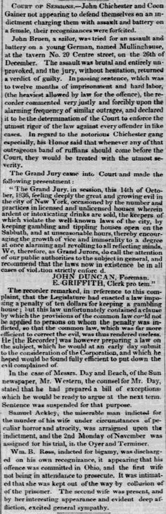1836.10.17. John Chichester & Coon Gainer trial