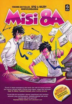 Review Komik Misi 8A (Afiq & Nazry). Lawati: http://blogtoji.blogspot.com/2013/11/misi-8a-karya-afiq-dan-nazry.html