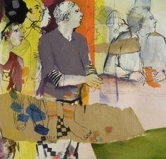 "Saatchi Art Artist golnaz AFRAZ; Painting, ""In my dream"" #art"