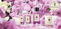 Pions and suede blush Jo Malone