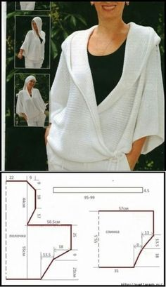 Wrap Pattern Pattern Cutting No Sew Cape Sewing Patterns Free Clothing Patterns Dress Patterns Short Frocks Fabric Manipulation Sewing Clothes Dress Sewing Patterns, Sewing Patterns Free, Free Sewing, Clothing Patterns, Fashion Sewing, Diy Fashion, Ideias Fashion, Diy Clothing, Sewing Clothes