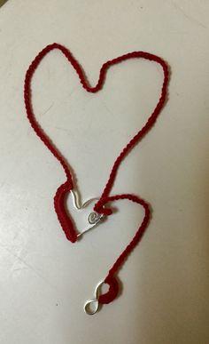 Amore Infinito - Infinity Love crochet e wire ❤