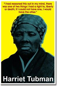 Harriet Tubman African American History New Classroom Motivational Poster | eBay