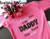 Shaun would love to see this if we were to ever have a baby girl ;)