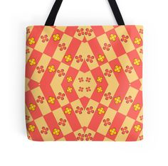 A colorful, floral #tote bag, perfect for #summer #redbubble