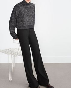 Image 3 of TAILORED TROUSERS from Zara