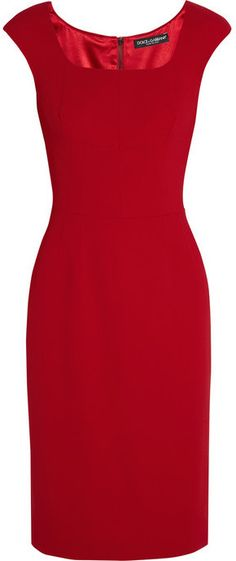 Dolce & Gabbana Stretch-cady dress - EVERYSTORE