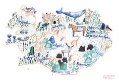 Iceland Kids Illustration  - Gretas Schwester