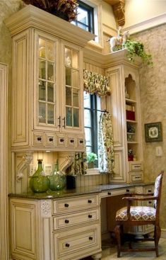 Cozy French Country Living Room Decor Ideas - Page 17 of 76 - 44 Gorgeous French Country Kitchen Decorating Ideas – Page 14 of 44 - French Country Kitchens, French Country Living Room, French Country Cottage, French Country Style, Top Country, Country Blue, Rustic French, French Farmhouse, Kitchen Decorating