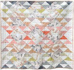 Free download for the Gotham Quilts Yuma Pattern in Carolyn Friedlander Carkai fabric.