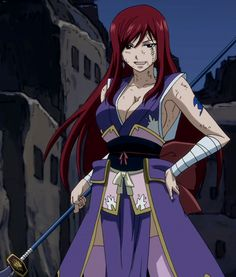 Fairy+Tail+erza | Fairy Tail Erza and Friends :)