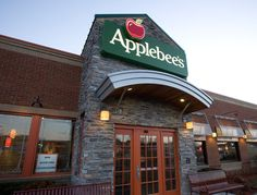 Applebee's... Gift certificate for complimentary lunch or dinner for two