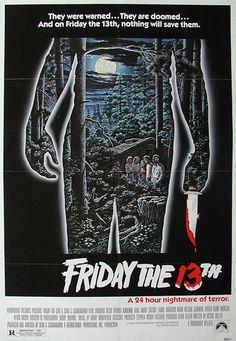 Buon venerdì 13 a tutti con un ricordo cinematografico dal 1980... #venerdì13