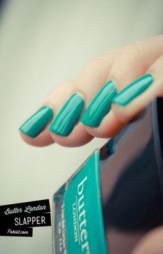 want turquoise nail polish!