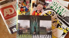 Hier blijf ik de verhalenbundel van Sanneke van Hassel op de leestafel