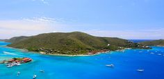 Bitter End Yacht Club, British Virgin Islands--all-inclusive resort where you stay in treehouses