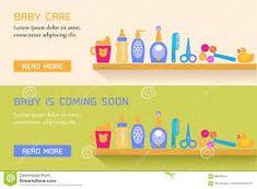 Výsledek obrázku pro baby products banner design