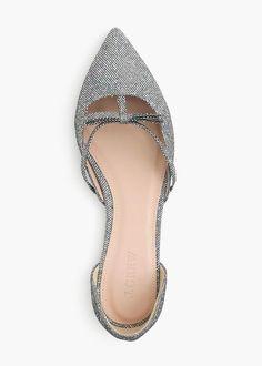 sloan glitter d'orsay flat The Best of footwear in 2017.