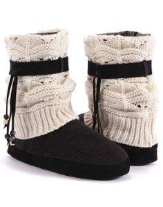 Muk Luks Sweater Boots ♡