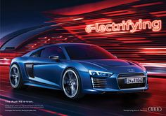 Audi e-Tron Campaign 2015 Print on Behance