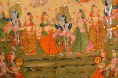Rajasthan is worldwide famous for its art and craft. Pichhwai Paintings is one such art form which is basically an offering to Lord Krishna