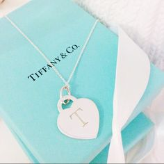 T initial Tiffany's necklace http://milkbubbletea.blogspot.co.uk