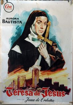 93. Teresa De Jesús Religious Images, Hooray For Hollywood, Old Movies, Film Posters, Movies To Watch, Aurora, Cinema, Scene, Superhero