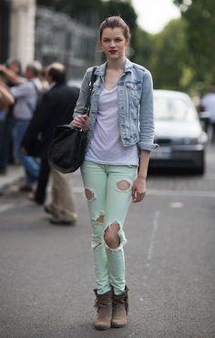 Antonia Wesseloh at Paris in September 2011....