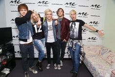 Ross Lynch - R5 Visits Music Choice in NYC