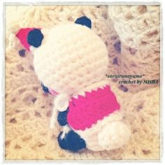 crochet by *soraironoyume*MISHA http://ameblo.jp/soraironoyume-misha/entry-11728339499.html