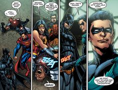 Nightwing in Injustice. The best line in like all of the best lines ever!