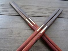 "Wooden chopsticks unique & high quality 100% handmade ""10"" on Etsy, $5.25"