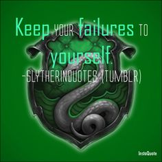 Slytherin Quotes