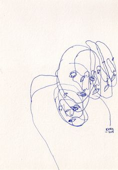 continuous line drawing                                                       …