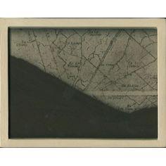 """Geo-grafia"" serie Paginas de Tierra (2009) by Artist: Teresa Pereda |   Soil, Handmade Paper, Wood, Glass | Size: 9"" x 7"" x 1.6"" 22 x 17 x 4 cm.| http://www.objectmythology.com/"