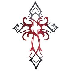 tribal cross tattoos | Cross Design