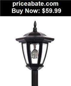 Farm-Garden: 6 NEW Outdoor Garden 3-LED Antique Solar Landscape Light Lamp Dual Purpose - BUY IT NOW ONLY $59.99