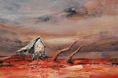 "Palla Jeroff - ""Windswept Studio"" 100x150 #PallaJeroff #ConterporaryArt #Art #AustralianArt #Landscape"