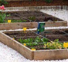 Faire son jardin ou son potager en carrés, les tutos !