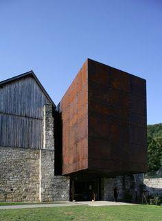 Salt Museum: Macoltti Roussey Architectes & Thierry Gheza